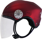 helmet Free Air Com 3 Velvet red
