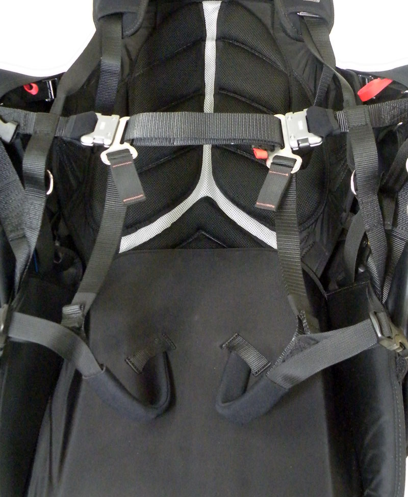 get-up buckle system for further weight reduction and simplicity