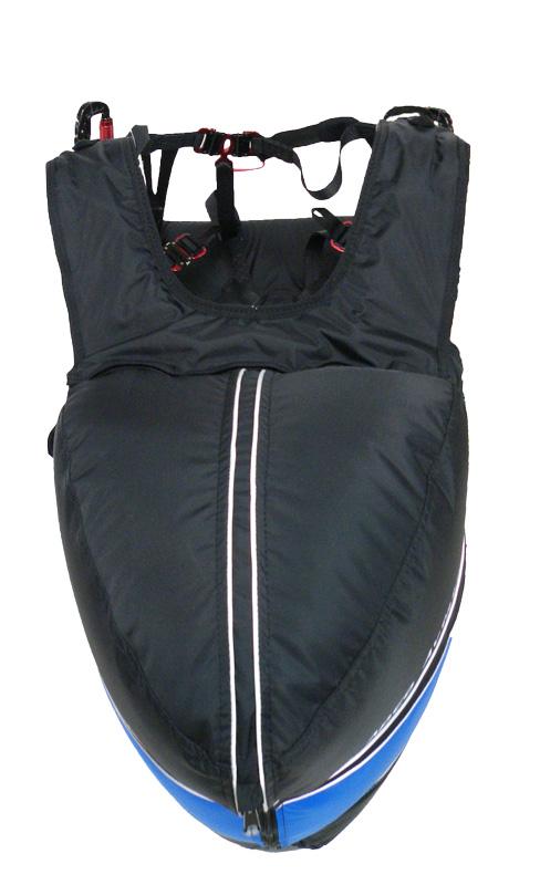 Teardrop bag shape for reduced drag