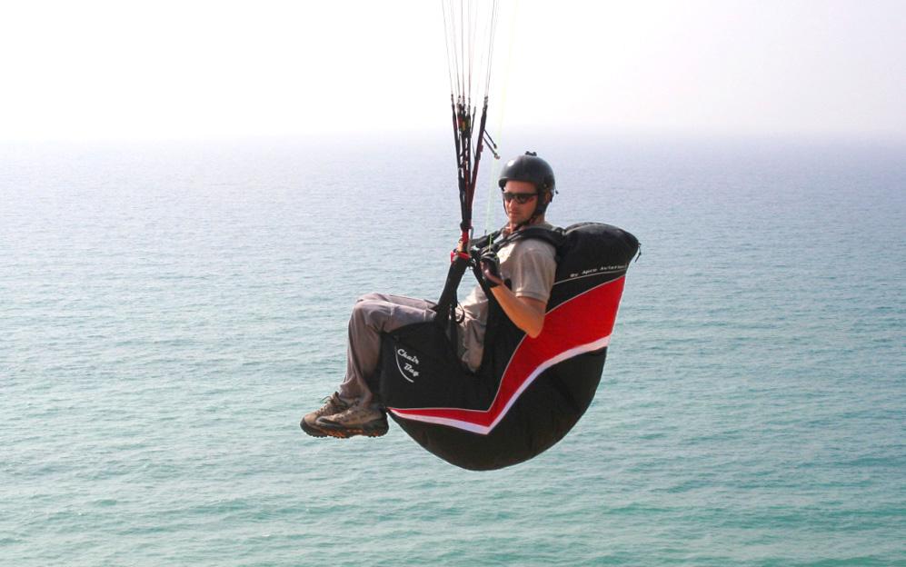 Chairbag II in flight