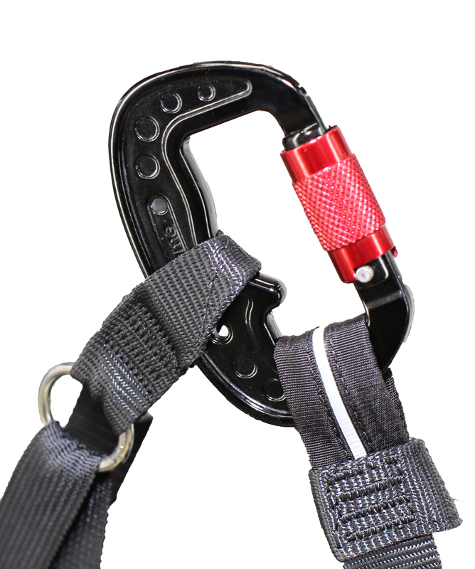Designed to accept our new 3 Ton forged carabiner