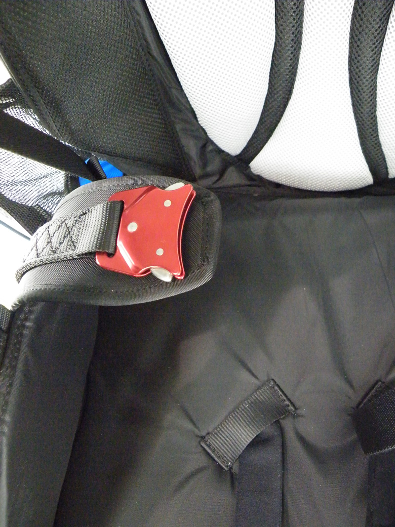 Padded leg straps