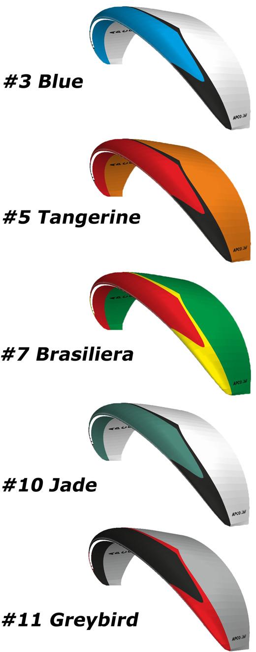 Vista II colors