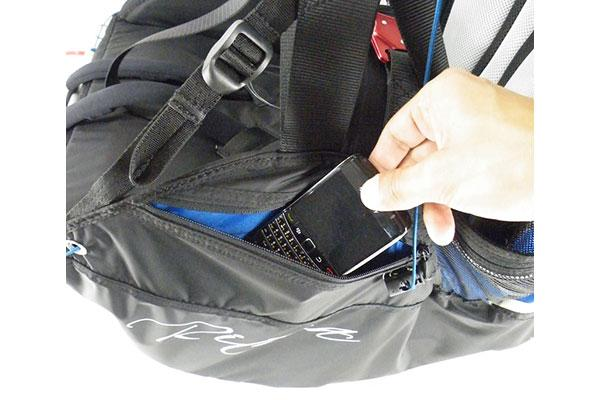 Left side accessory pocket