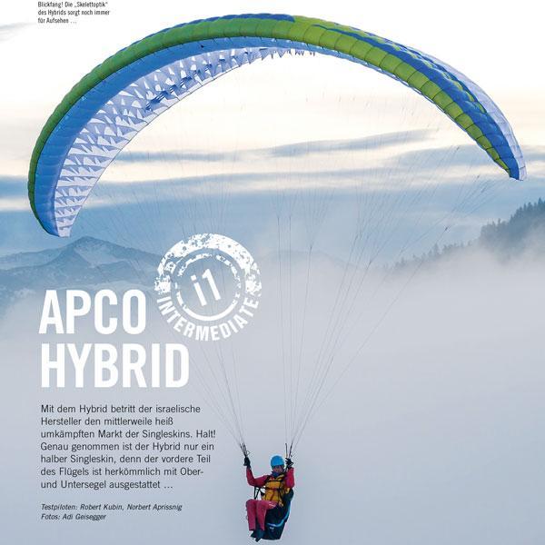 Hybrid Paramotor - Apco Aviation Ltd